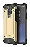Dafoni Tough Power Samsung Galaxy S9 Plus Ultra Koruma Gold Kılıf