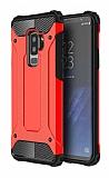 Dafoni Tough Power Samsung Galaxy S9 Plus Ultra Koruma Kırmızı Kılıf
