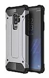 Dafoni Tough Power Samsung Galaxy S9 Plus Ultra Koruma Rose Gold Kılıf