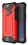 Dafoni Tough Power Samsung Galaxy S9 Ultra Koruma Kırmızı Kılıf