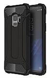 Dafoni Tough Power Samsung Galaxy S9 Ultra Koruma Siyah Kılıf