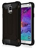 Dafoni Tough Power Samsung N9100 Galaxy Note 4 Ultra Koruma Siyah Kılıf