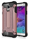 Dafoni Tough Power Samsung N9100 Galaxy Note 4 Ultra Koruma Rose Gold Kılıf