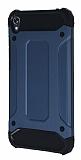 Tough Power Asus Zenfone Live ZB501KL Ultra Koruma Lacivert Kılıf