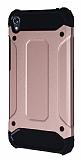 Tough Power Asus Zenfone Live ZB501KL Ultra Koruma Rose Gold Kılıf
