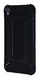 Dafoni Tough Power Asus Zenfone Live ZB501KL Ultra Koruma Siyah Kılıf