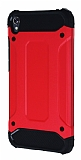 Tough Power Asus Zenfone Live ZB501KL Ultra Koruma Kırmızı Kılıf