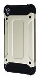 Tough Power Asus Zenfone Live ZB501KL Ultra Koruma Gold Kılıf