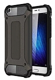 Dafoni Tough Power Xiaomi Mi 5 Ultra Koruma Siyah Kılıf