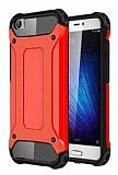 Dafoni Tough Power Xiaomi Mi 5 Ultra Koruma Kırmızı Kılıf