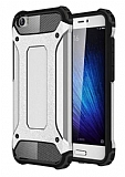 Dafoni Tough Power Xiaomi Mi 5 Ultra Koruma Silver Kılıf
