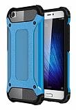 Dafoni Tough Power Xiaomi Mi 5 Ultra Koruma Mavi Kılıf