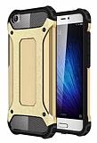 Dafoni Tough Power Xiaomi Mi 5 Ultra Koruma Gold Kılıf