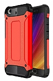 Dafoni Tough Power Xiaomi Mi 5s Ultra Koruma Kırmızı Kılıf