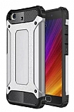 Dafoni Tough Power Xiaomi Mi 5s Ultra Koruma Silver Kılıf
