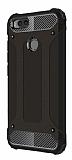 Dafoni Tough Power Xiaomi Mi 5X / Mi A1 Ultra Koruma Siyah Kılıf