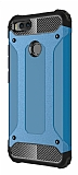 Dafoni Tough Power Xiaomi Mi 5X / Mi A1 Ultra Koruma Mavi Kılıf