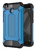 Tough Power Xiaomi Redmi 4X Ultra Koruma Mavi Kılıf