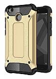 Tough Power Xiaomi Redmi 4X Ultra Koruma Gold Kılıf