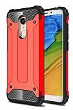 Tough Power Xiaomi Redmi Note 5 / Redmi 5 Plus Ultra Koruma Kırmızı Kılıf