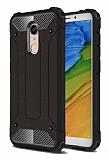 Tough Power Xiaomi Redmi 5 Ultra Koruma Siyah Kılıf