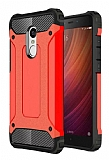 Dafoni Tough Power Xiaomi Redmi Note 4 / Redmi Note 4X Ultra Koruma Kırmızı Kılıf