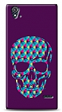 Dafoni Turkcell T50 Color Skull Purple K�l�f