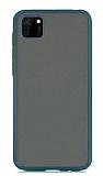 Dafoni Union Huawei Y5P Ultra Koruma Yeşil Kılıf