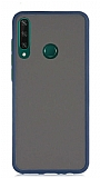 Dafoni Union Huawei Y6P Ultra Koruma Lacivert Kılıf