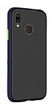 Dafoni Union Huawei Y7 Prime 2019 Ultra Koruma Lacivert Kılıf