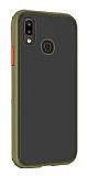 Dafoni Union Huawei Y7 Prime 2019 Ultra Koruma Yeşil Kılıf