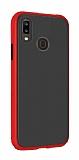 Dafoni Union Huawei Y7 Prime 2019 Ultra Koruma Kırmızı Kılıf