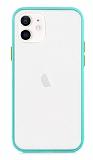 Dafoni Union iPhone 12 / iPhone 12 Pro 6.1 inç Ultra Koruma Turkuaz Kılıf