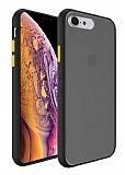 Dafoni Union iPhone 7 / 8 Ultra Koruma Siyah Kılıf