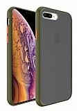 Dafoni Union iPhone 7 Plus / 8 Plus Ultra Koruma Yeşil Kılıf