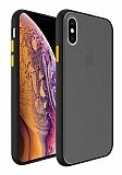 Dafoni Union iPhone XS Max Ultra Koruma Siyah Kılıf