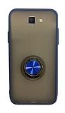 Dafoni Union Ring Samsung Galaxy J7 Prime / J7 Prime 2 Ultra Koruma Lacivert Kılıf
