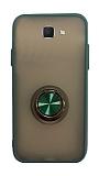 Dafoni Union Ring Samsung Galaxy J7 Prime / J7 Prime 2 Ultra Koruma Yeşil Kılıf