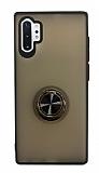 Dafoni Union Ring Samsung Galaxy Note 10 Plus Ultra Koruma Siyah Kılıf