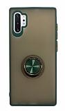 Dafoni Union Ring Samsung Galaxy Note 10 Plus Ultra Koruma Yeşil Kılıf