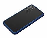 Dafoni Union Samsung Galaxy S20 Plus Ultra Koruma Lacivert Kılıf