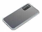 Dafoni Union Samsung Galaxy S20 Plus Ultra Koruma Beyaz Kılıf