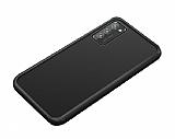 Dafoni Union Samsung Galaxy S20 Plus Ultra Koruma Siyah Kılıf