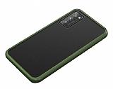 Dafoni Union Samsung Galaxy S20 Plus Ultra Koruma Yeşil Kılıf
