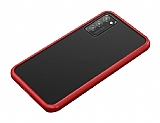 Dafoni Union Samsung Galaxy S20 Plus Ultra Koruma Kırmızı Kılıf