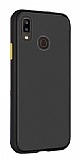 Dafoni Union Samsung Galaxy A30 Ultra Koruma Siyah Kılıf