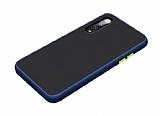 Dafoni Union Samsung Galaxy A70 Ultra Koruma Lacivert Kılıf
