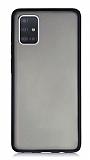 Dafoni Union Samsung Galaxy A71 Ultra Koruma Siyah Kılıf