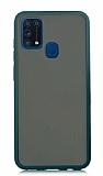Dafoni Union Samsung Galaxy M31 Ultra Koruma Yeşil Kılıf