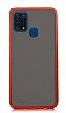 Dafoni Union Samsung Galaxy M31 Ultra Koruma Kırmızı Kılıf